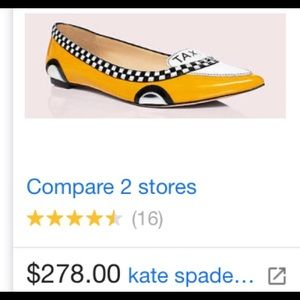 Kate Spade novelty taxi 🚕 shoe 6